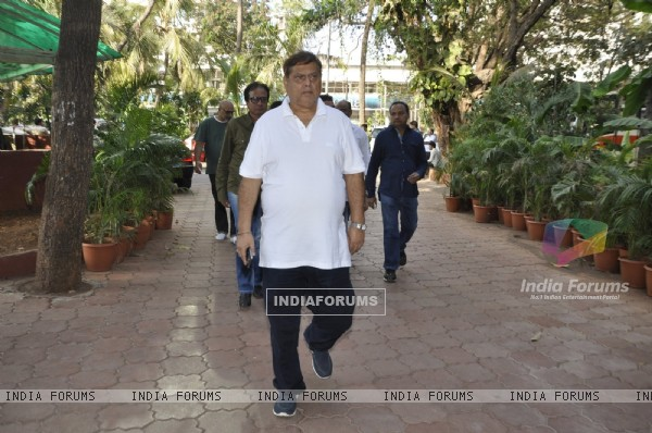David Dhawan at Vikas Mohan's Prayer Meet