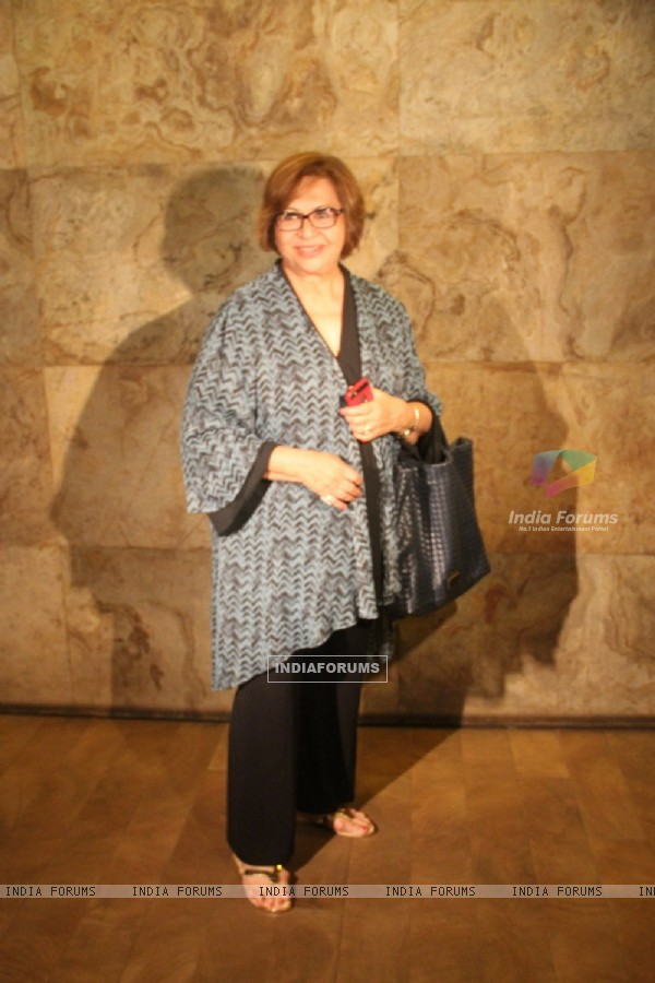 Helen at Screening of 'Nil Battey Sannata'