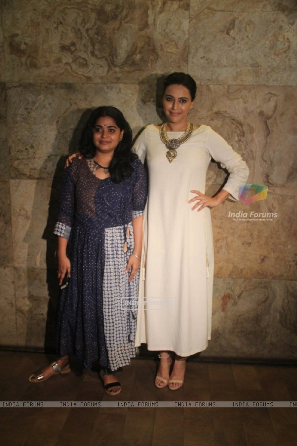 Swara Bhaskar at Screening of 'Nil Battey Sannata'