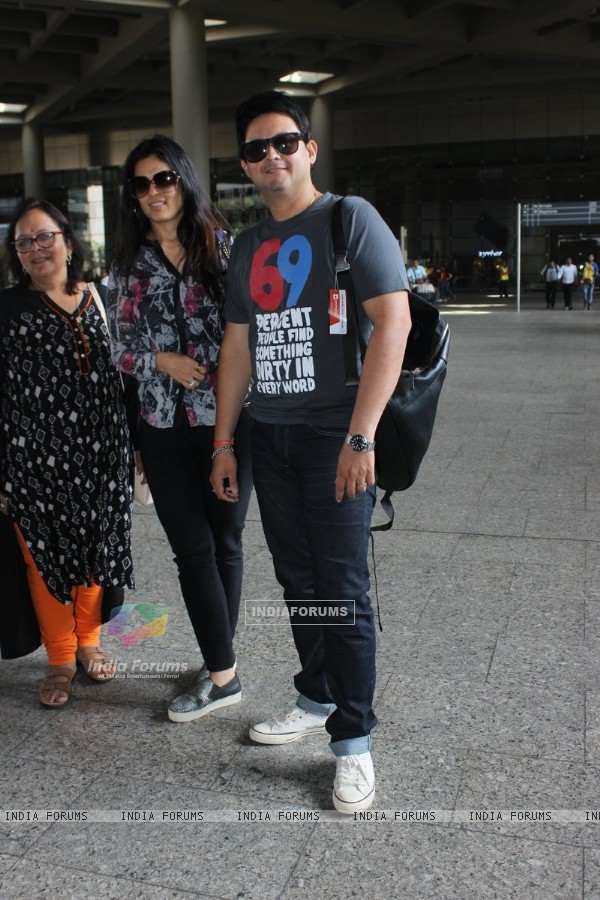Swapnil Joshi Snapped at Airport