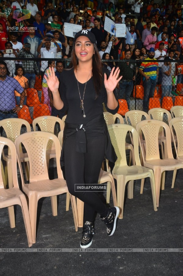 Sonakshi Sinha at the Soccer Match !
