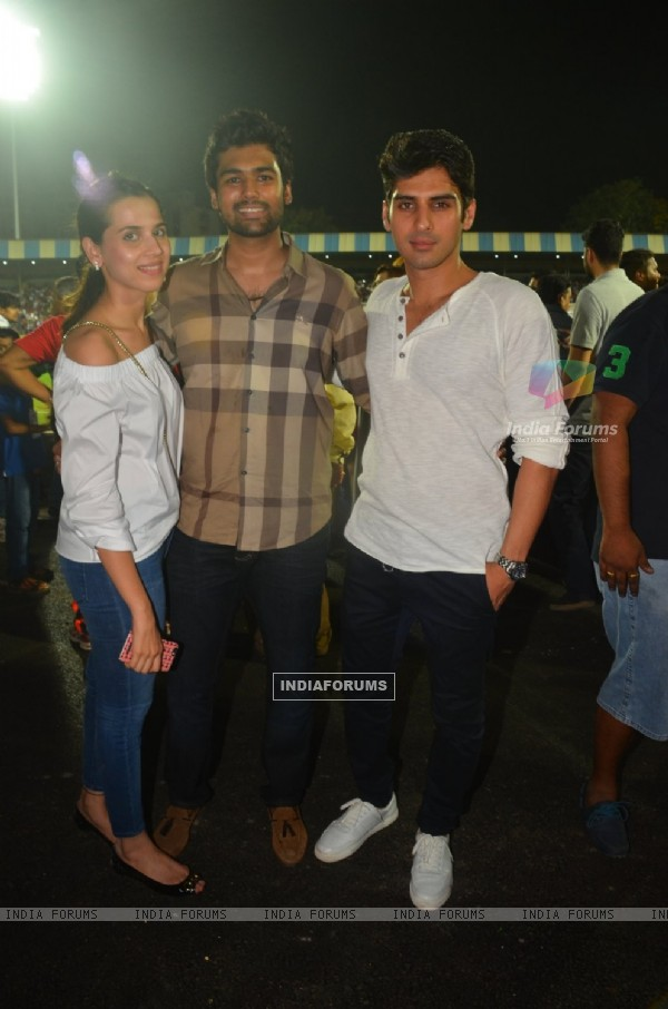 Zayed Khan at the Soccer Match !