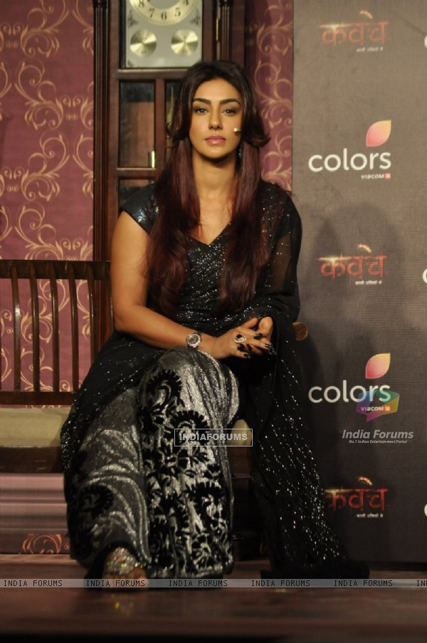 Mahek Chahal during at Colors TV New Show 'Kavach'