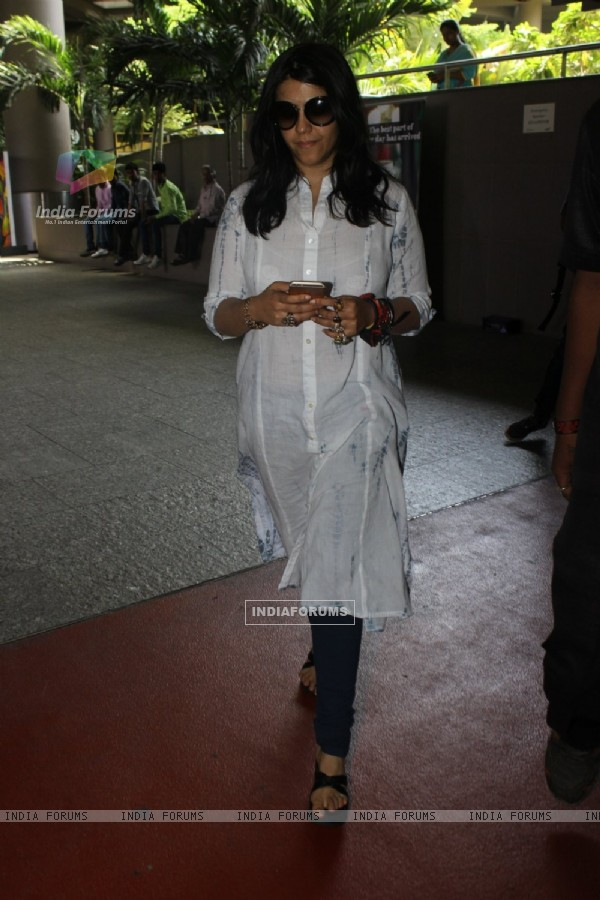 Airport Check In and Check Outs: Ekta Kapoor