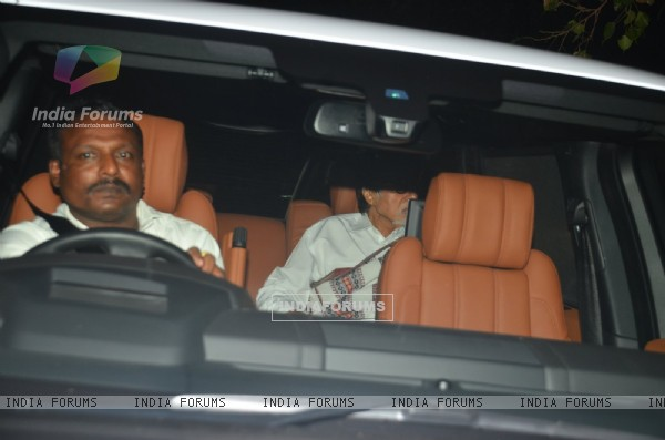 Amitabh Bachchan at Special Screening of 'TE3N'