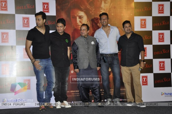 Salim - Sulaiman, Bhushan Kumar, Rahat Fateh ALi Khan at Launch of 'Dillagi' Music Video!