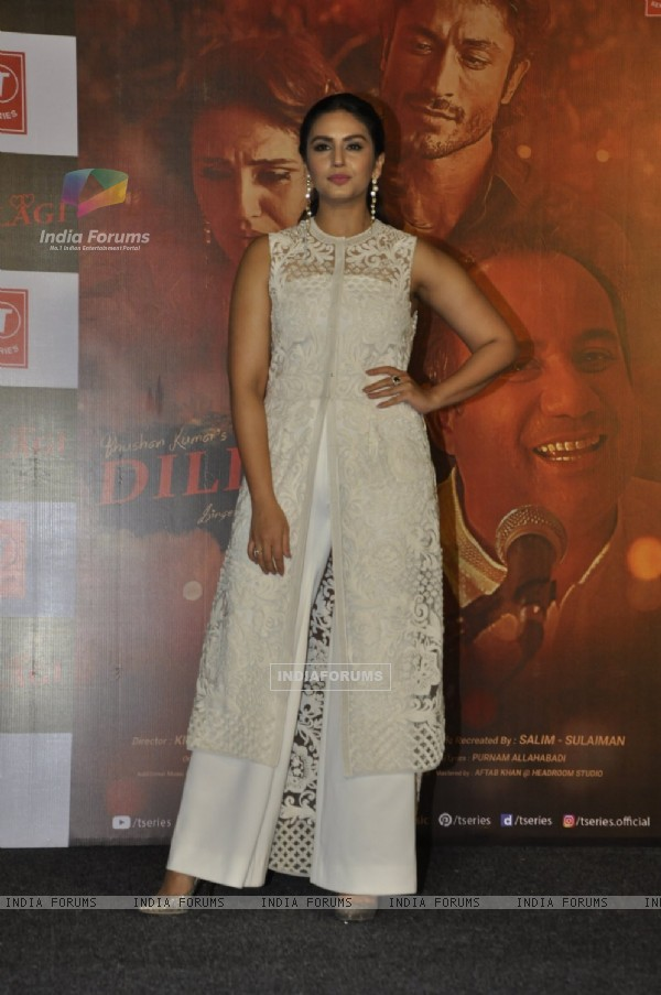Huma Qureshi at Launch of 'Dillagi' Music Video!
