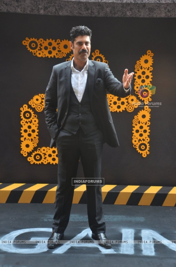 Sikander Kher at Launch of '24 Season 2'