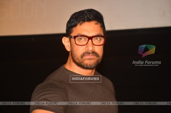 Looks like Aamir wore Kiran Rao's Specs!: Aamir Khan at Launch of '24 Season 2'