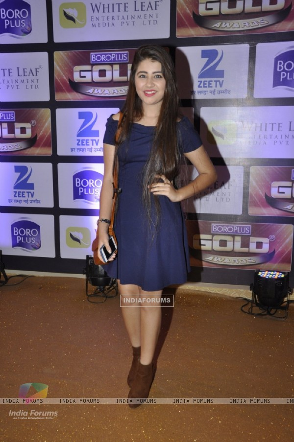 Aditi Bhatia at Zee Gold Awards 2016