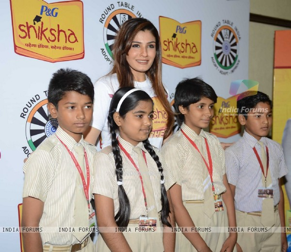 Raveena Tandon at P&G Shiksha Event!