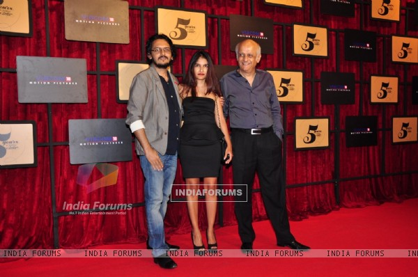 Bhatt Family at Viacom 18 Bash