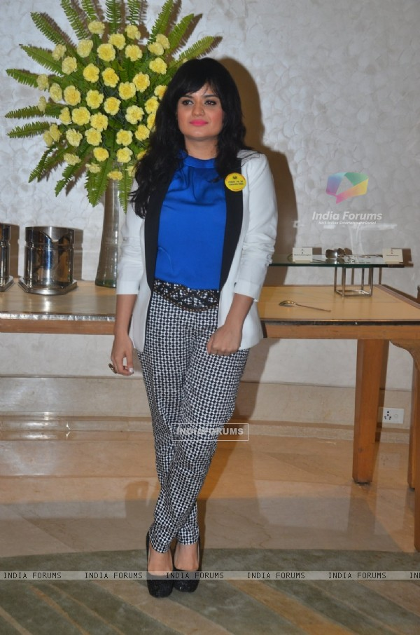 Aditi Singh Sharma at Cancer Patients Aid Association's Event