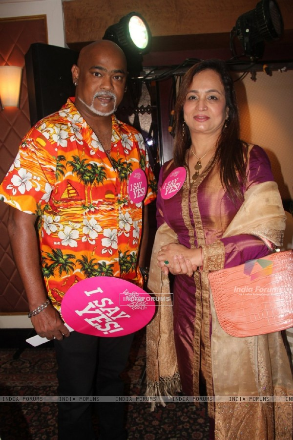 Vinod Kambli and Smita Thackeray at Global Wellness Day Event
