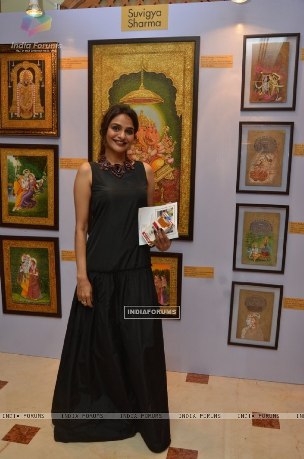 Madhoo at Nargis Dutt Foundation's Art Event