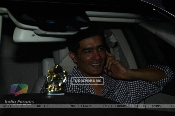 Manish Malhotra at Special Screening of Marathi film 'Sairat'