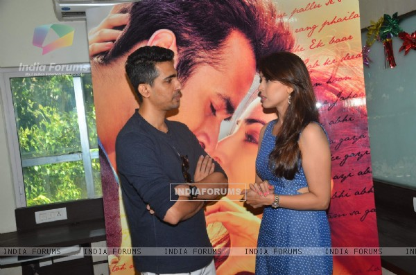 Hrishita Bhatt at Promotion of film 'Junooniyat'