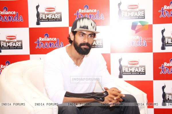 Rana Daggubati at a 'Filmfare Awards South 2016' Event