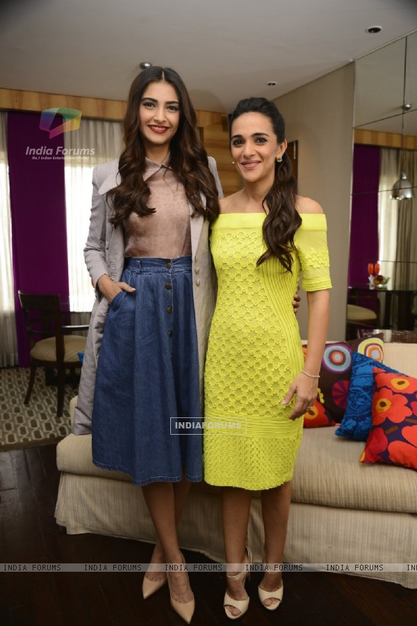 Sonam Kapoor at Tara Sharma Show