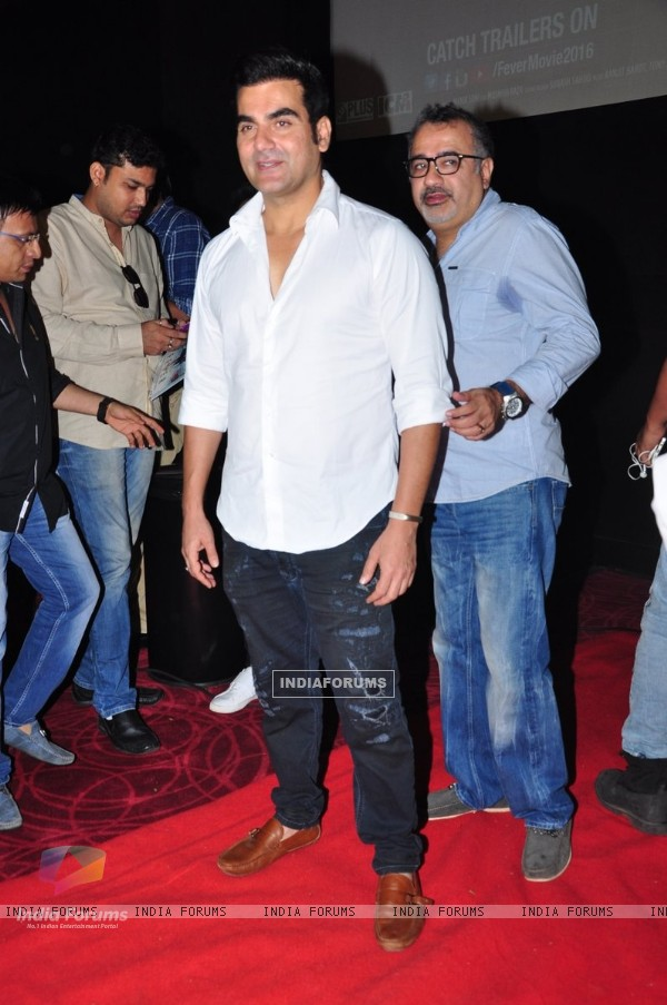 Arbaaz Khan at Trailer Launch of film 'Fever'