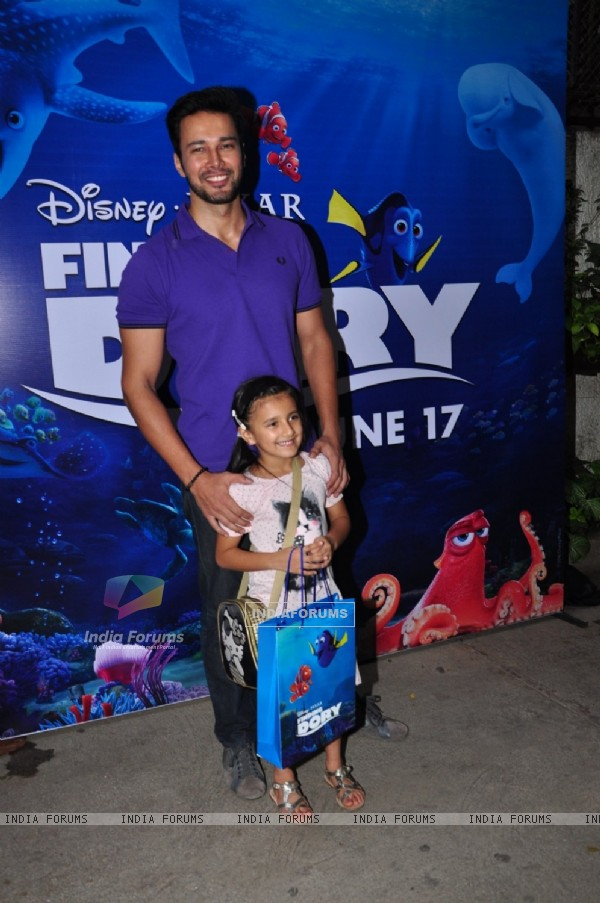 Rajneesh Duggal at Special Screening of 'Finding Dory'