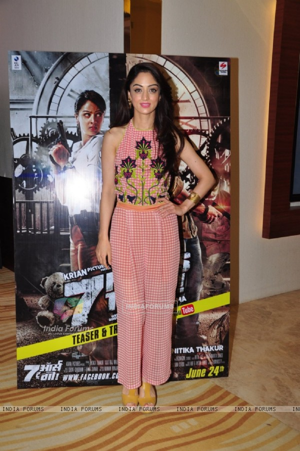 Sandeepa Dhar at Promotion of film '7 Hours to go'