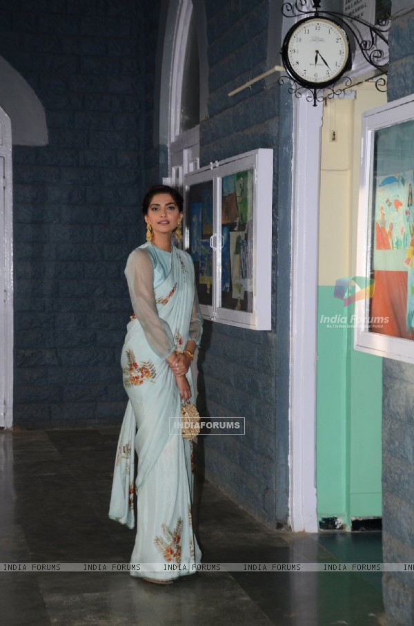 Sonam Kapoor Pays Tribute to Neerja Bhanot at a School Event