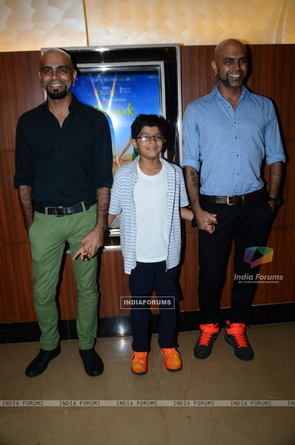 Raghu Ram at Special Screening of 'Dhanak'