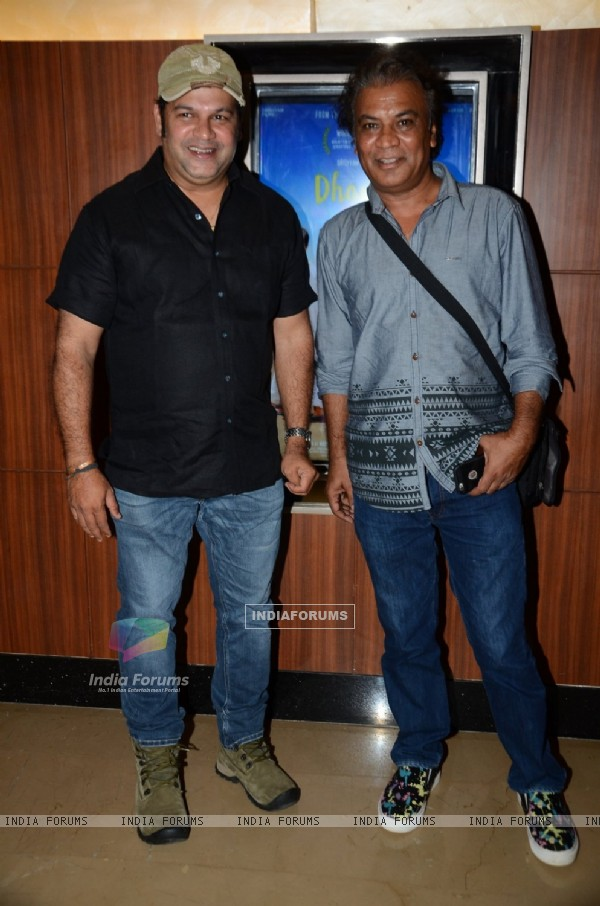Suresh Menon at Special Screening of 'Dhanak'