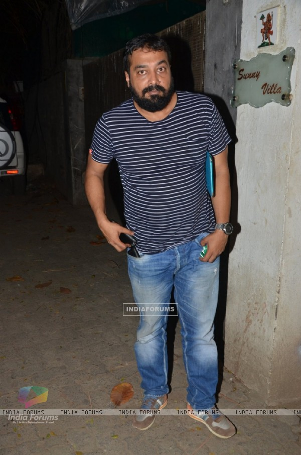 Anurag Kashyap at Special Screening of 'Udta Punjab'