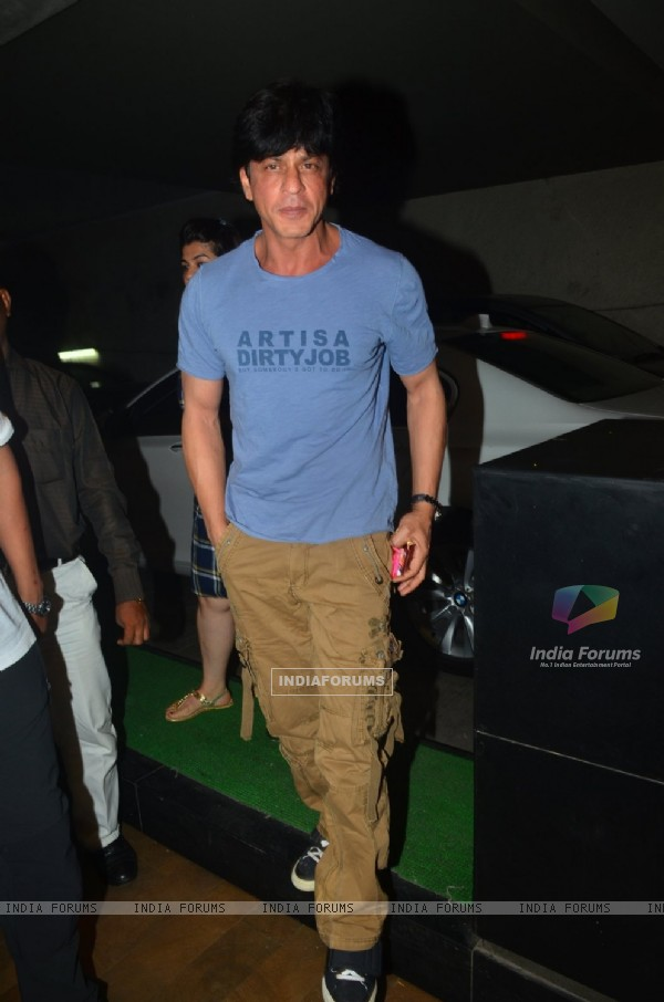 Shah Rukh Khan at Special Screening of 'Udta Punjab'