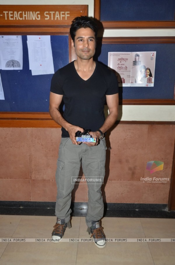 Rajeev Khandelwal at Launch of 'Young Bharatiya' Event