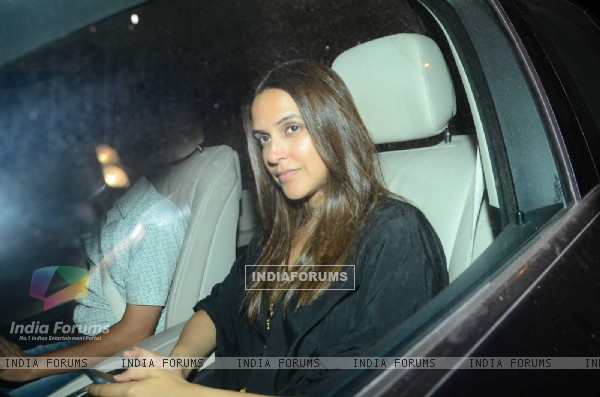 Neha Dhupia at Karan Johar's Bash