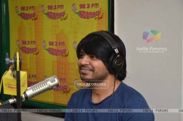Ankit Tiwari at Radio Mirchi Studio