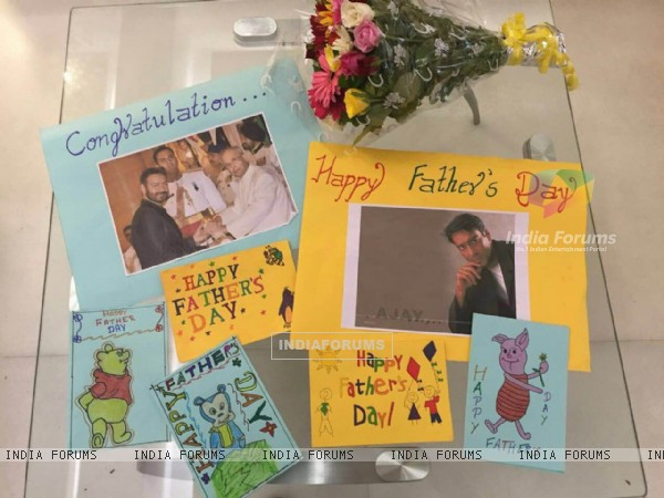 Ajay Devgn Celebrates Father's Day with Kids at Smile Foundation