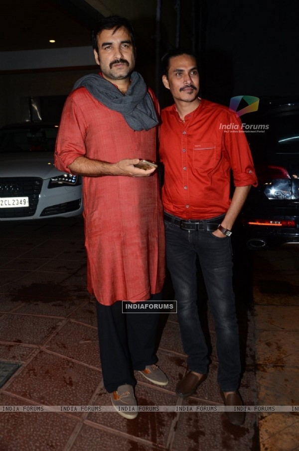 Pankaj Tripathi at Success Bash of 'UDTA PUNJAB'