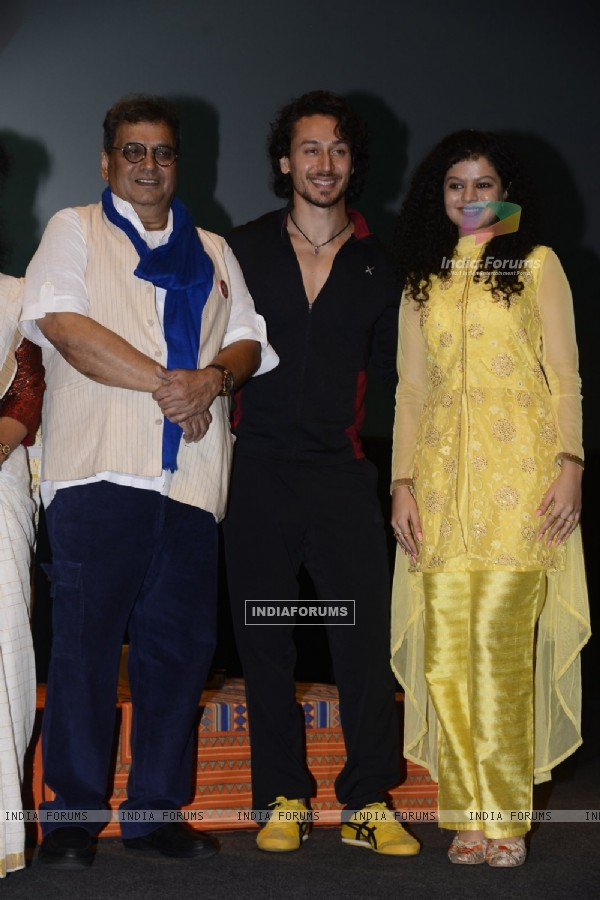 Tiger Shroff, Subhash Ghai & Palak Muchhal Celebrates 'World Yoga Day' at Whistling Woods