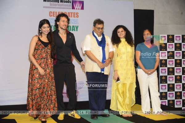 Digangana Suryavanshi, Subhash Ghai, Tiger Shroff & Palak Muchhal Celebrates 'World Yoga Day' at Whi