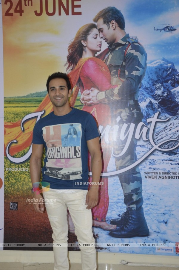 Pulkit Samrat at Press Meet of film 'Junooniyat'