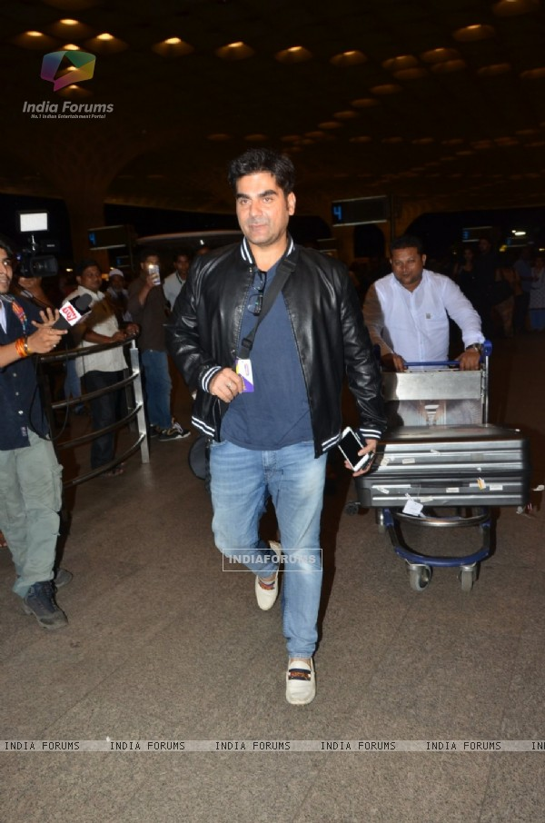 Airport Diaries: Arbaaz Khan!