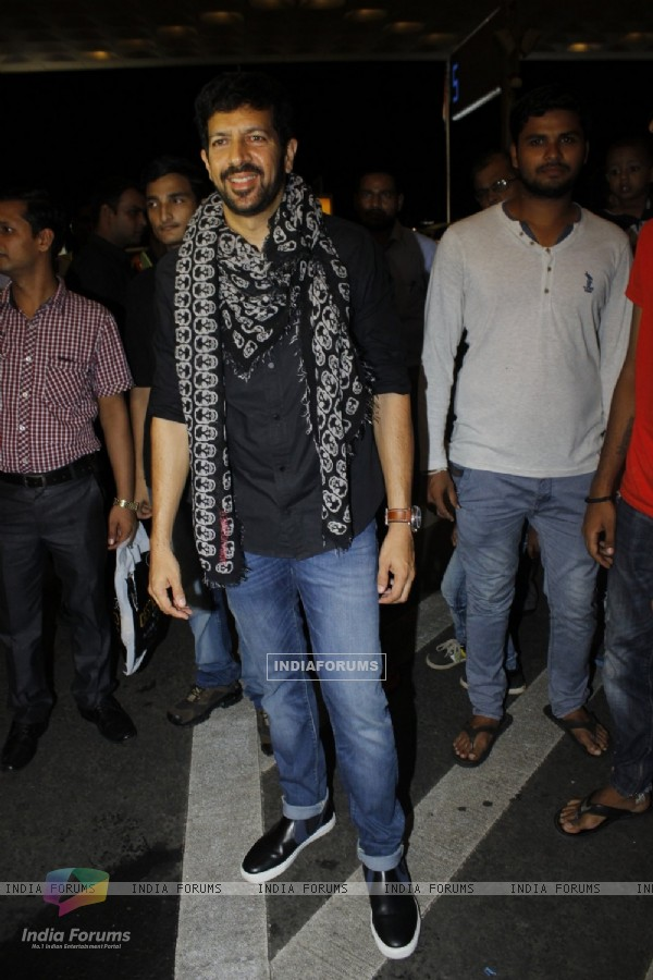 Airport Diaries: Kabir Khan