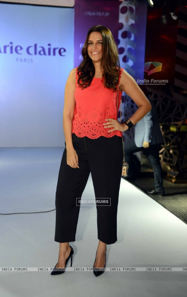 Neha Dhupia Launches Marie Claire's Collection