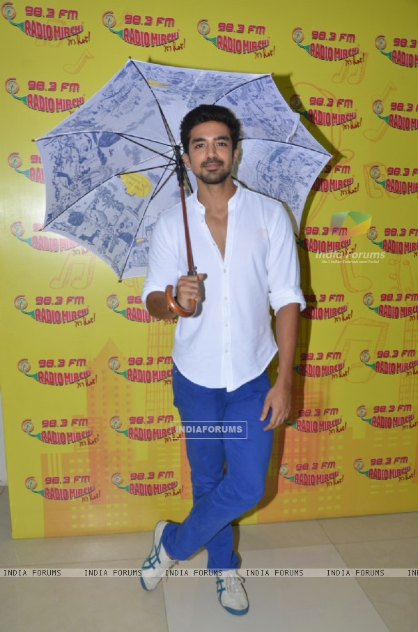 Saqib Saleem of Song 'Tum Ho To' at Radio Mirchi's Studio