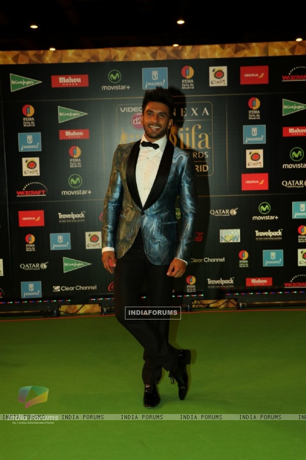 Ranveer Singh at Star Studded 'IIFA AWARDS 2016'