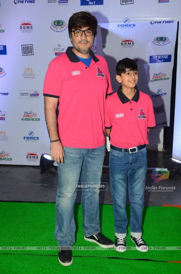 Goldie Behl at Launch of Pro Kabaddi League-Season 4