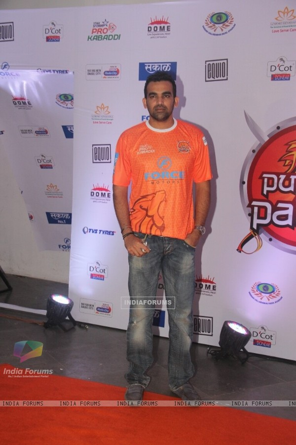 Zaheer Khan at Launch of Pro Kabaddi League-Season 4