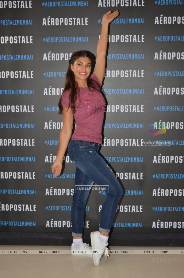 Jacqueline Fernandes at 'Aeropostale' Store Launch in Delhi