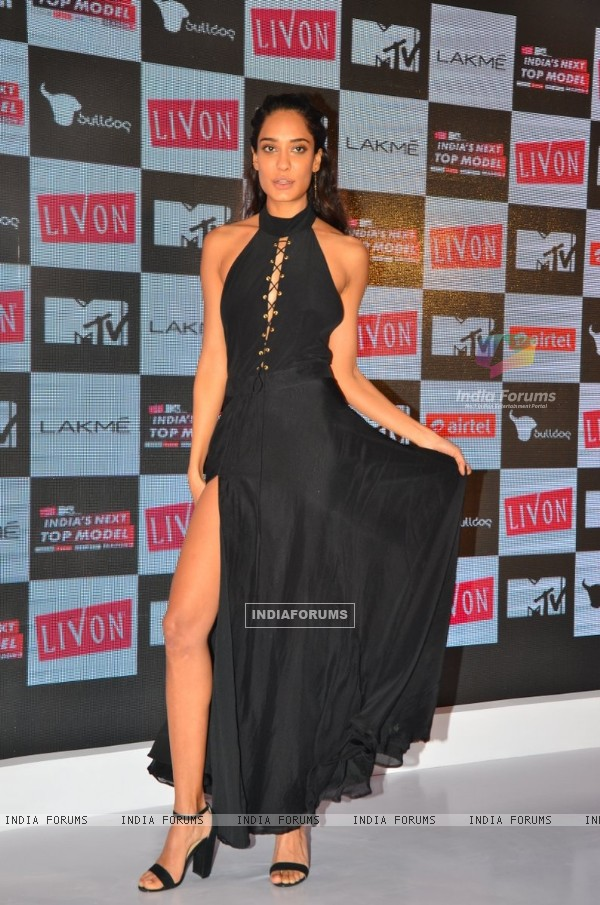 Lisa Haydon at India's Next Top Model 2016