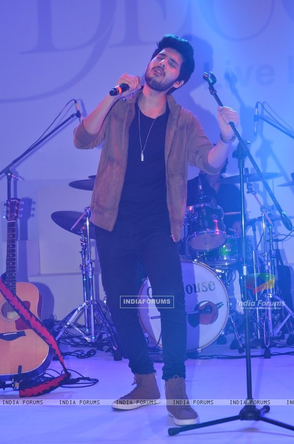 Armaan Malik at D'Decor Event
