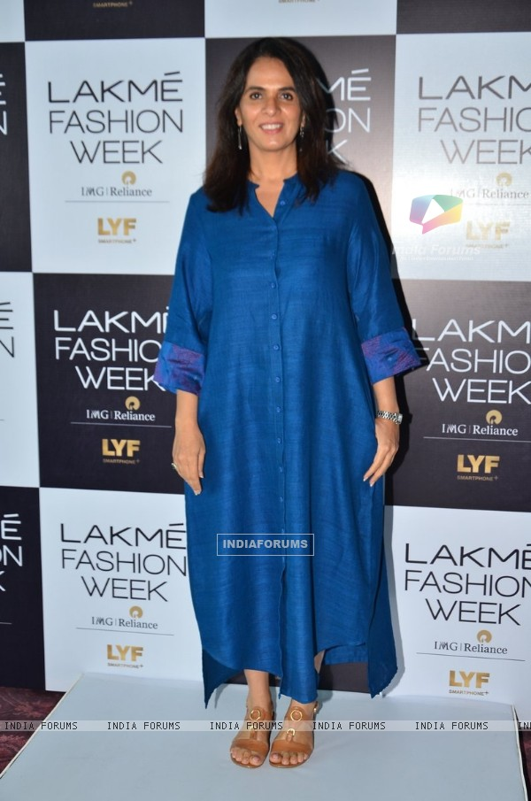 Anita Dongre at Auditions of Lakme Fashion weak 2016